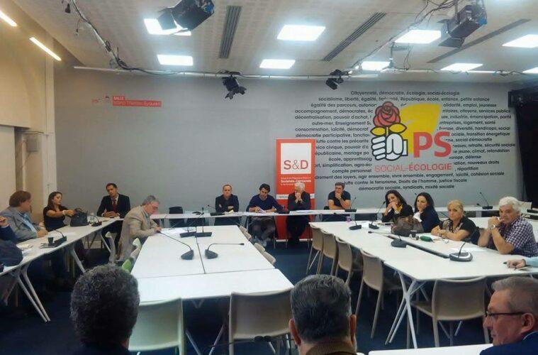 8869d4255 PS português reuniu Secções da Europa na (ainda) sede do PS francês ...