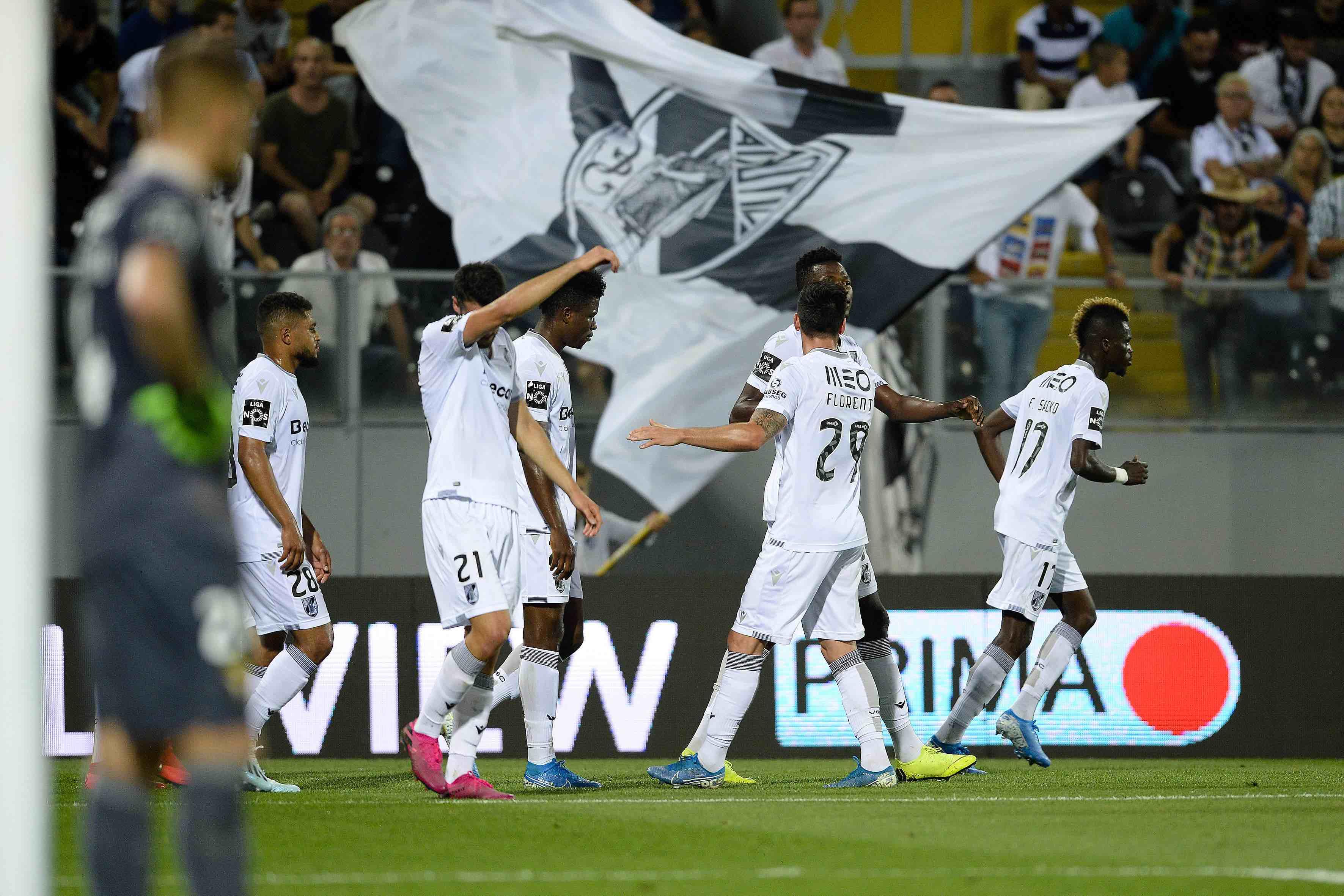 Florent Hanin - Liga Europa - UEFA - Vitória de Guimarães - Vitória SC - Futebol - Desporto